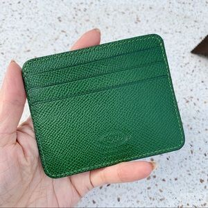 NWT Authentic Tod's Leather Card Case